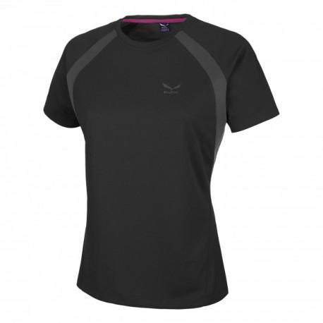 Salewa T-Shirt Donna Puez Sporty Black Out