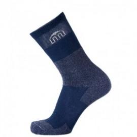Mico Sport Calze Trekking Corte Blu Melange Unisex