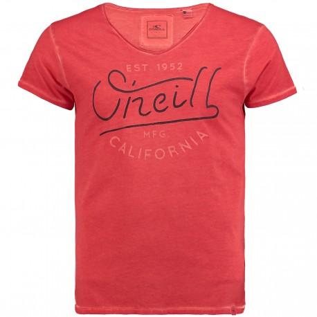 O'Neill T-Shirt Logo Arancio