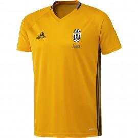 ADIDAS t-shirt mm juve trg arancio/nero