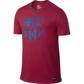 Nike T-Shirt Mm Fcb Crest Tee Red